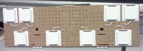 Build your own phased array radar out of wi-fi antennas and pegboard.