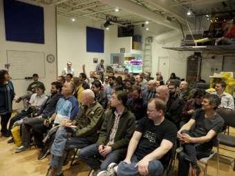 Full house at HackLab