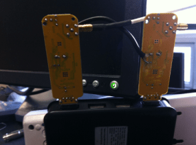 Two alternative digital receivers that can be used for passive radar