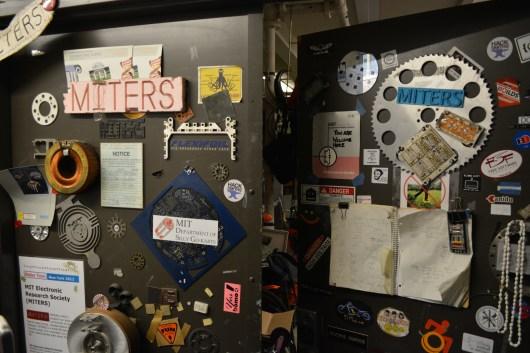 Doors leading to MITERS