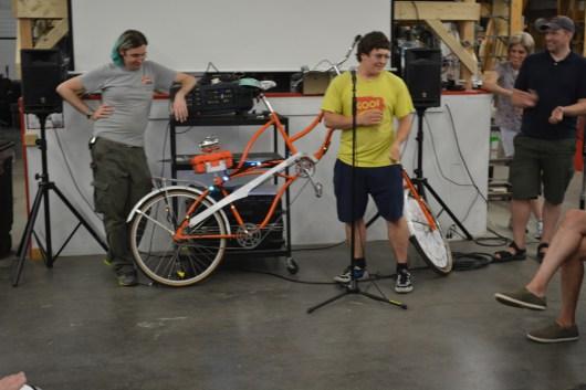Artisan's Asylum known for Awesome bikes
