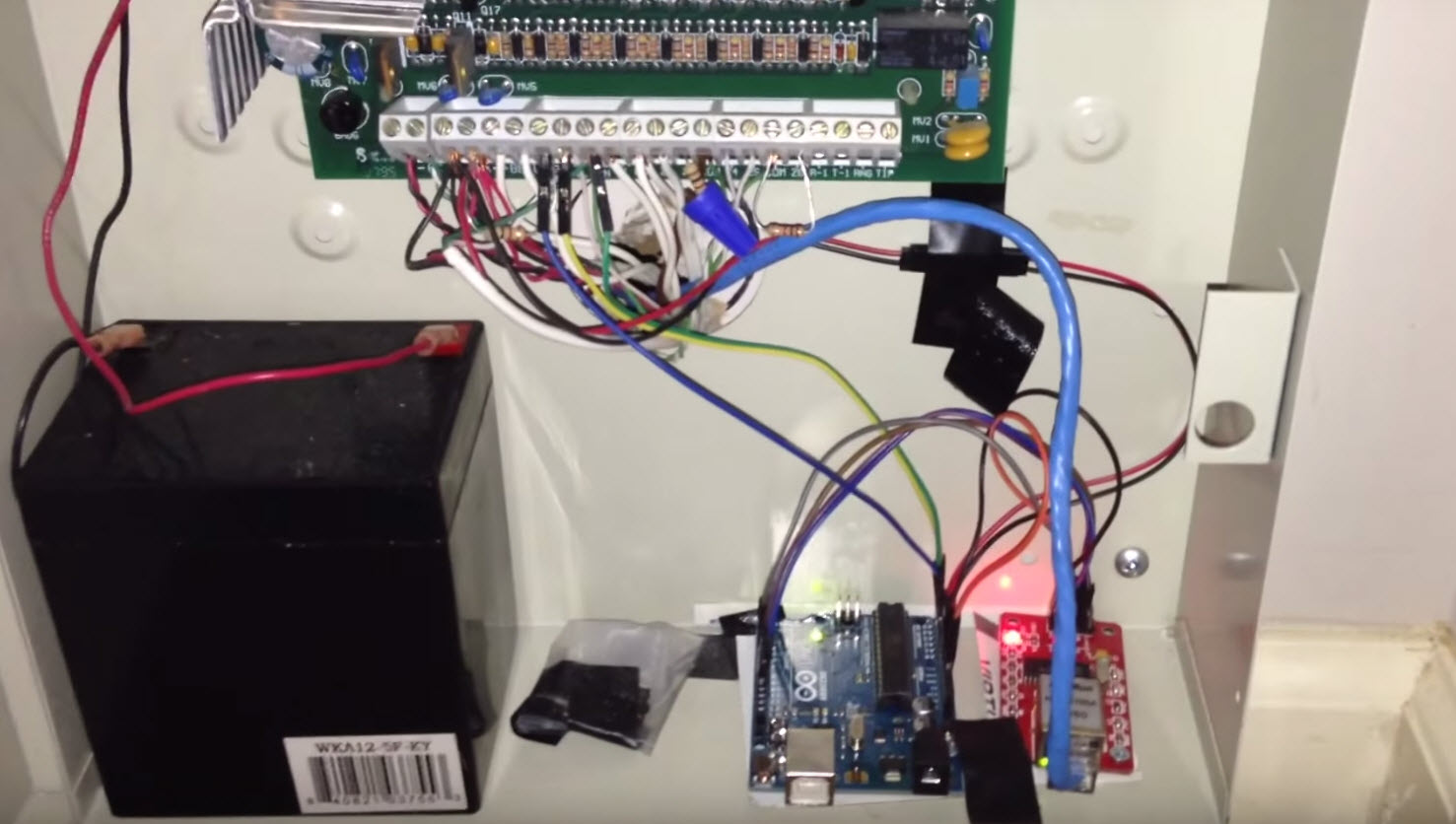 Wiring Ethernet Switch Diagram Upgrading Your Alarm System With An Arduino Hackaday