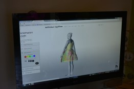 Generative Garments can only be designed on-site