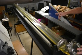 Oil-filled tube for standing waves