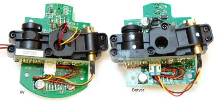 [Anton] notes the connections between PCBs seem to be the same on both models.