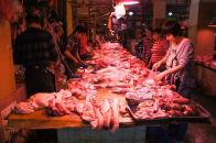 Freshly butchered meats