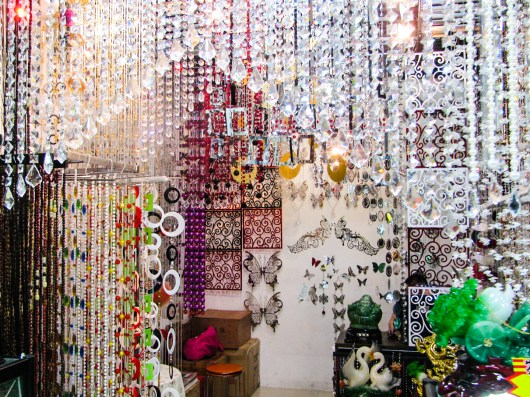 A decorative bead shop in Sungang