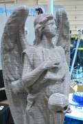 Not a weeping angel