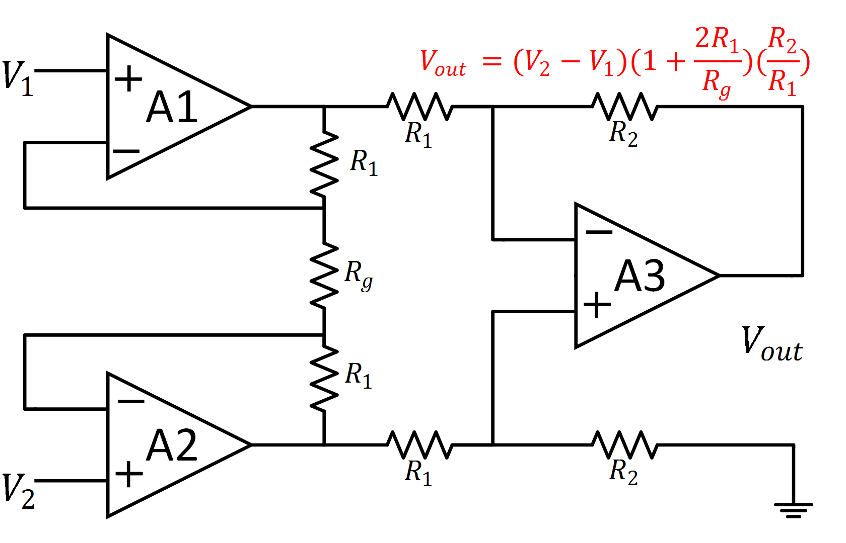 Op Amp Schematic Load Cells