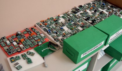 So many mikroBUS click boards!