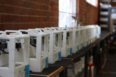 Othermills waiting for testing before leaving the factory.