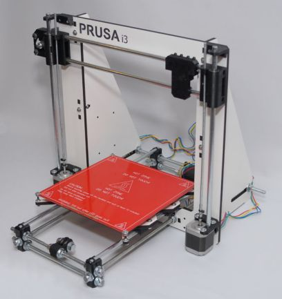 Prusa i3, wood style with stabilizers (image source)