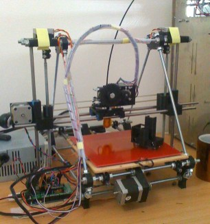 Prusa Mendel unstabilized (image source)