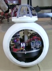 James Bruton's BB-8 during testing