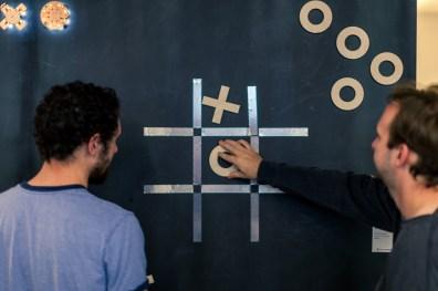 Tic-Tac-Toe build using Design Lab tools