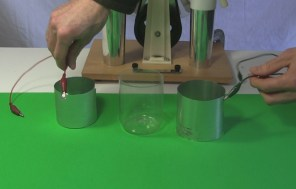 Dissected Leyden jar