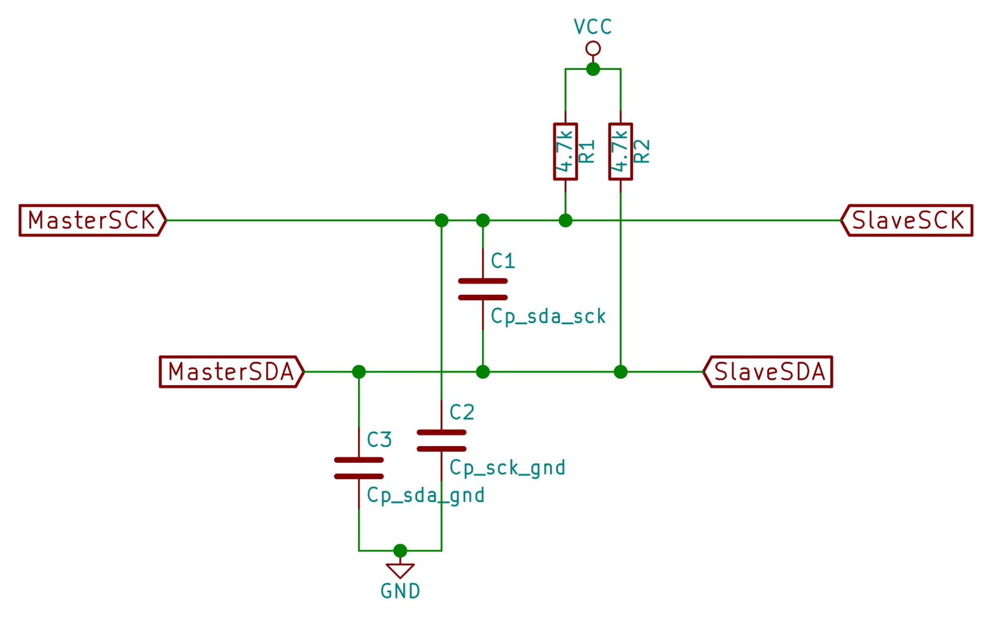 hight resolution of i2c sch