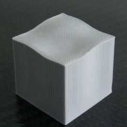 Diagonal view (30 mm cube)