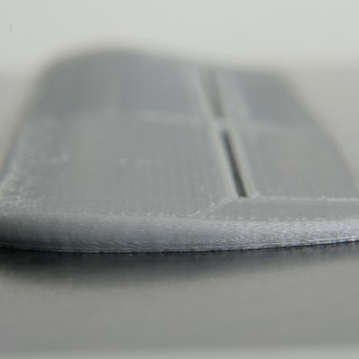 Printed wing, tip end