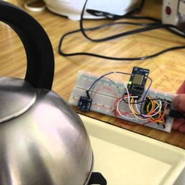 This prototype lets you remotely check that the stove is not left on