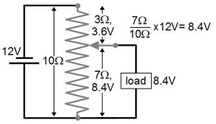 Potentiometer schematic