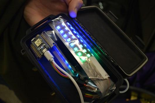 APA102 LEDs driven by Photon
