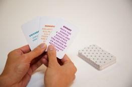 The development cards.