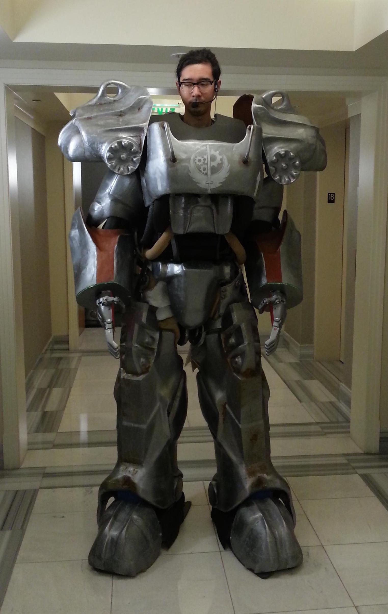 monstrous suit of power