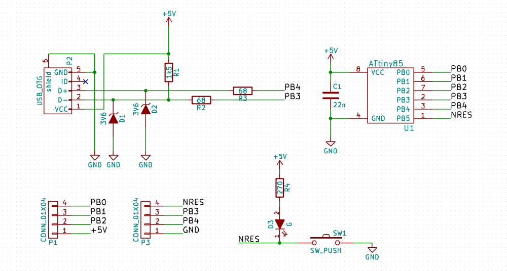 medium resolution of the completed schematic for our board