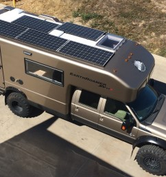 earthroamer a leader in off grid expedition vehicles provides a 3 000 watt solar [ 3158 x 1619 Pixel ]