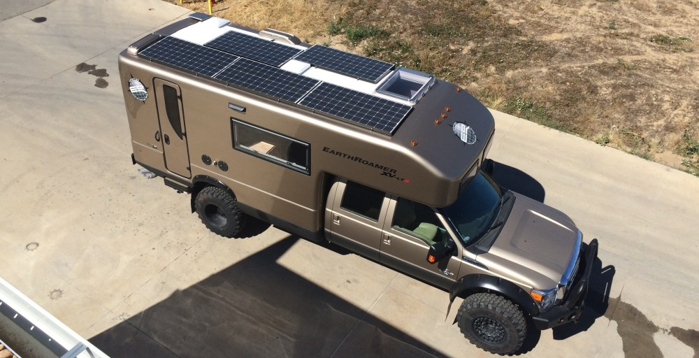 medium resolution of earthroamer a leader in off grid expedition vehicles provides a 3 000 watt solar