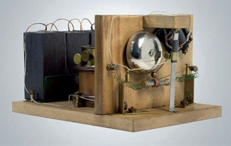 The world's first radio receiver. Source: ITU News