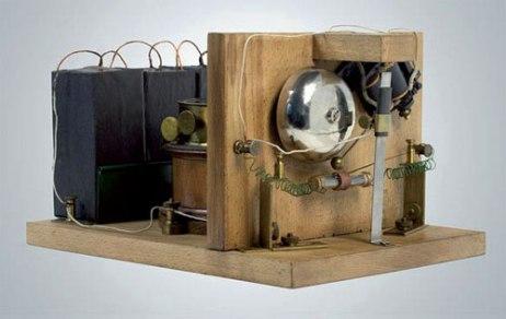 The world's first radio receiver. Source: ITU News
