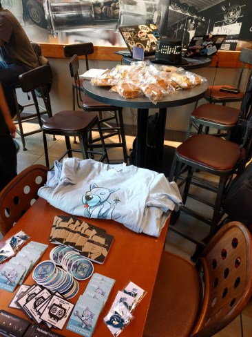 Swag, pastries, and RF hacking