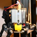 The hotend. This has remained mostly unchanged from the hotend in the MP Mini Select
