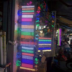 flashy LEDs