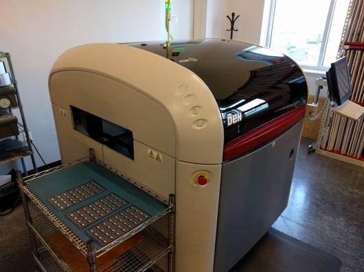 Solder paste machine