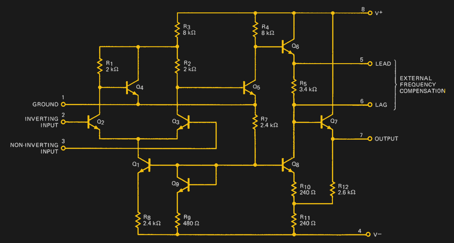 hight resolution of the a702 s internal circuit as shown on its data sheet