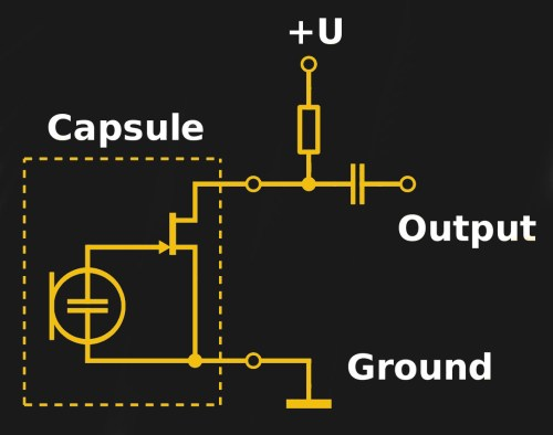 small resolution of electret microphone capsule schematic wdwd cc by 3 0