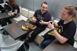 Radomir shows of his handheld gaming hardware to q3k