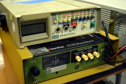 Vintage test gear.
