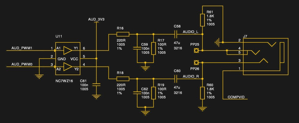 medium resolution of the audio circuitry from the raspberry pi 3