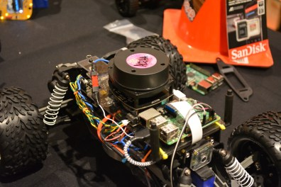 LIDAR on an autonomous RC vehicle