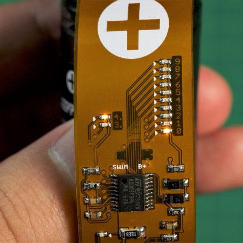 Battery tester flexes to accommodate all kinds of batteries.