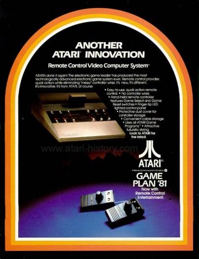 Atari 2700 Advertisement 1981