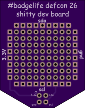 The official Shitty Dev Board from Zapp