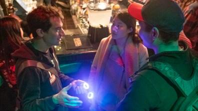 HTK meetup Sam Freeman LED goggles