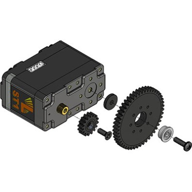 Lynxmotion Smart Servo 3.1 gear