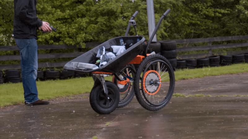 radio controlled wheelbarrows tear