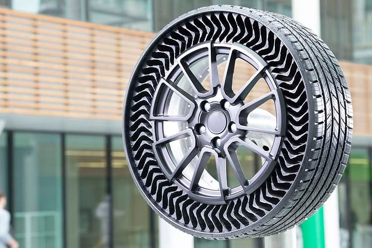 Airless Tire For Your Car: Michelin Says 2024 2